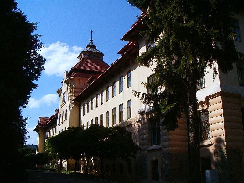 Здание львовского Лесотехнического университета