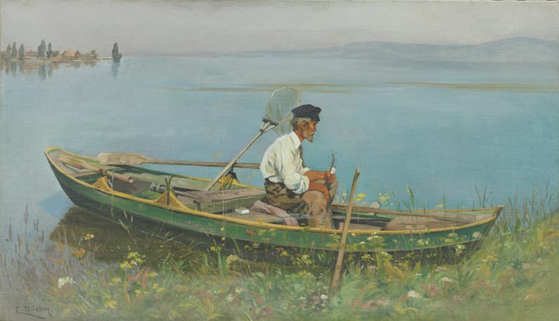 рыболов бедного