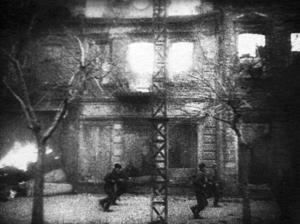 Красноармейцы на улицах Николаева. Март 1944 г.
