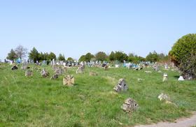 Кладбище Ингулки почти в центре села