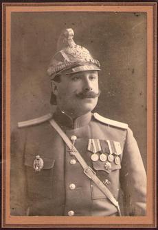 Николаевский брандмейстер Свижинский Михаил Николаевич.