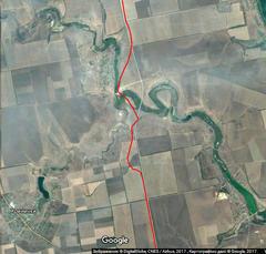 Карта маршрута узкоколейки
