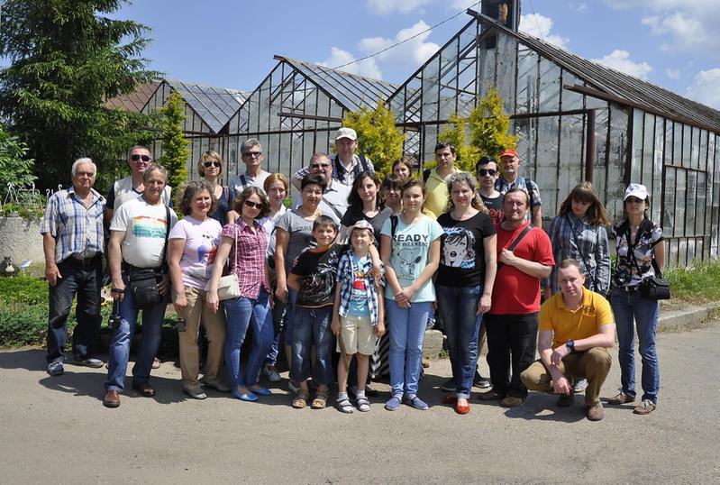Групповое фото в Николаевзеленхозе