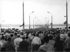 Открытие Варваровского моста, 1964 год.